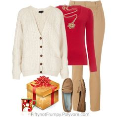 Merry Christmas Everyone! by fiftynotfrumpy on Polyvore - Marita Fashionable Dresses