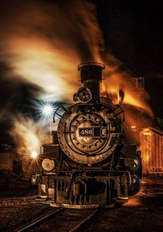The wonderful haunting train horn in the middle of the night, echoing off the mountains, is music for my soul