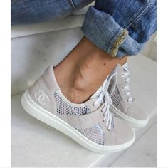 chanel + sneakers   Styled by K A S E Y