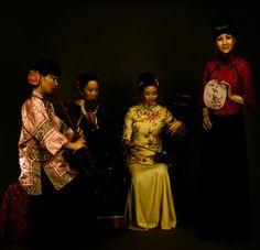 【油画】陈逸飞、陈逸鸣兄弟笔下的中国女人 - 林间旧友 - 无事闲聊人———林间旧友