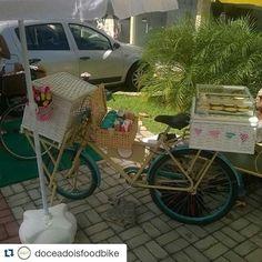 Resultado de imagem para bike food doces