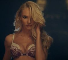 Angel Candice Swanepoel for VS Holiday 2013 TV Commercial