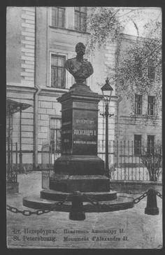 The monument of Alexander II, Saint Petesburg.