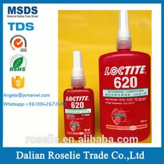 Liquid Glues & Cements Loctite 620 Adhesive High Strength High Temperature 50 Ml Elegant In Smell