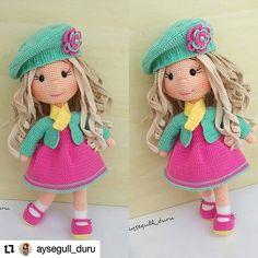 Amigurumi Angel Baby Free Pattern – Amigurumi Doll Amigurumi Free Pattern, Crochet Doll Pattern, Amigurumi Doll, Crochet Patterns, Crochet Tutorials, Crochet Ideas, Crochet Ornaments, Crochet Crafts, Crochet Toys