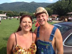 My Wife and Tim at the Popcorn Sutton 3rd Annual!