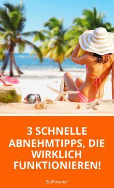 3 schnelle Abnehmtipps, die wirklich funktionieren! | eatsmarter.de