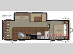 Floorplan - 2014 Keystone RV Springdale 266RLSSR