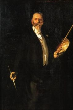 William Merritt Chase by John Singer Sargent, 1902. Metropolitan Museum of Art, New York City.