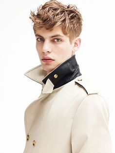 Baptiste Radufe is a Contemporary Vision in Sandro F/W 2012
