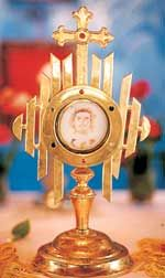 Eucharistic miracle in India in 2001.
