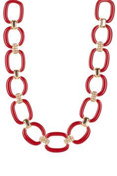 Breakers Enamel Link Necklace by Stella + Ruby on @HauteLook