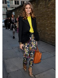 who: Olivia Palermo  wore: Topshop  where: Unique Fall 2012 Runway Show  when: February 19, 2012