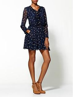 Lucca Couture Lucy Polka Dot Dress