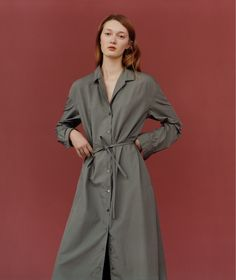 Lemaire x Uniqlo long-sleeve dress Lemaire x Uniqlo long-sleeved cotton dress in XS and olive color. Sold out Lemaire x Uniqlo Dresses Midi Ss16, Fashion Show, Fashion Outfits, Fashion Design, Women's Fashion, Uniqlo Dresses, Lemaire, Hair Scarf Styles, Scarf Hairstyles