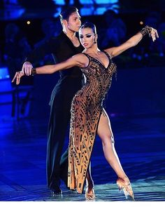 Kirill Belorukov and Polina Teleshova - WDC World Championship Professional Latin Oct 2016 ❤️ #belorukovteleshova