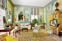 Miles Redd design | Interior design and decoration ideas Dressing Table Vanity, Dressing Tables,