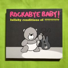 "Announcing Lullaby Renditions of... Not so fast; you know the drill!   Send your guess for who we're ""Rockabye'ing"" next to giveaway@rockabyebabymusic.com.   Five (5) participants who guess correctly will receive an advance copy of the album!"