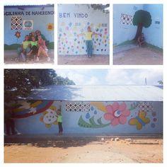 Un grazie speciale al secondo gruppo di vacanzieri solidali che in meno di due settimane ha dipinto tutte le facciate dell'Escolinha de Naherenque (Nacala, Mozambico).  #vacanzasolidale #humana #humanaitalia #turismosostenibile #volontariato #mozambique #nacala #africa #mozambico #humanapeopletopeopleitalia