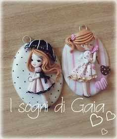 My doll polymer clay -fimo