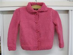 Chaqueta de lana para niñas Knitted Baby Clothes, Baby Patterns, Baby Knitting, Amelie, Knit Crochet, Pullover, Sweaters, Amanda, Youtube