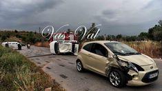 """""""Εφιάλτης"""" στην άσφαλτο: Την καταδίωκε ο εν διαστάσει σύζυγος, εμβόλισε το αμάξι της και """"τούμπαραν"""" και τα δύο οχήματα Vehicles, Car, Vehicle, Tools"""