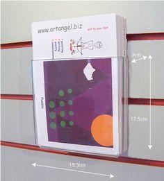 53 best brochure leaflet holders business card holders images in rh pinterest com