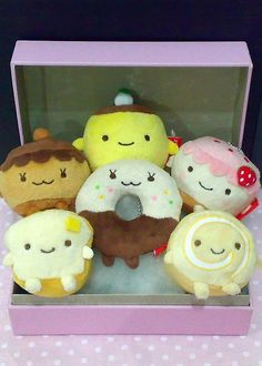 Nagomidou Plush Keyrings by L0V3LYLUN4, via Flickr
