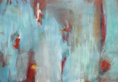 Abstract painting in blue with pops of orange and red. This piece has a mate. Cool Confrontation I African American Artist, American Artists, Pride And Prejudice Quotes, Bad Image, Bad Photos, Folly Beach, Bad Picture, Jackson Pollock, Popular Culture