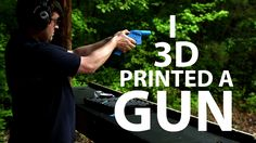 2 things of note in this video. 1) The fact that a gun can be printed now from a 3D printer is insane. 2) These blueprints for the gun as well as the program to design the gun are available to share with people. The maker of the plans made their information available to people, and people were then able to transform this information into whatever way they want (within legal means of course). Information is out there (continued in comments)