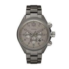 Fossil Herren-Armbanduhr XL Sport Analog Edelstahl CH2802