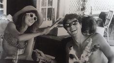 Talitha and Paul Getty Jr. (from Bill Willis documentary) Palestinian Wedding, Talitha Getty, Bohemian Chic Fashion, Kurt Cobain, The Magicians, Documentaries, Sunglasses, Jr, Beauty