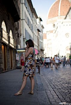 Florence Street Style Blog Women Summer Dress