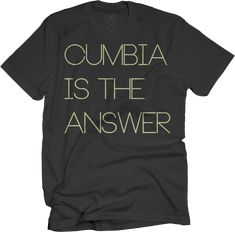 Cumbia Is The Answer T-shirt - Black - Mexican Institute Of Sound