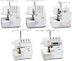 Serger tutorial ~ this will come in handy. I want a new serger! Sewing Basics, Sewing Hacks, Sewing Tutorials, Sewing Crafts, Sewing Tips, Sewing Ideas, Techniques Couture, Sewing Techniques, Serger Projects