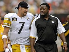 Ben Roethlisberger and Mike Tomlin