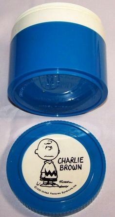 1952 charlie brown thermos by CerealVintageThrift on Etsy, $13.00
