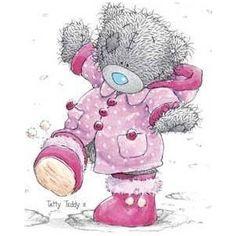 Images Tatty Teddy - Dans la neige