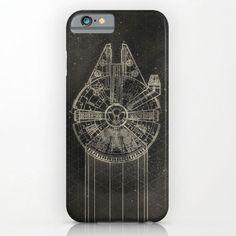 Millennium Falcon Phone Case - $35 ⋆ Unique Gifts for Star Wars Fans!