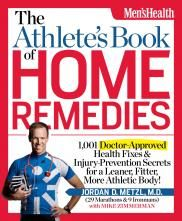 Identify, treat, and—most important—prevent common debilitating sports injuries and medical conditions.    Whether you're a hardcore competitor or a weekend warrior, this book belongs on your shelf. The Athletes Book of Home Remedies is your go-to resource for safe, effective, do-it-yourself treatments whether you have a strain, sprain, or pain that you've never felt before.