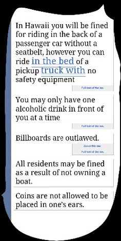 Dumb maryland laws