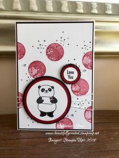 #Eclectic Expression #Party Panda's Valentine's Card