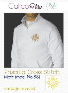 Priscilla Cross Stitch Motif mod. No.88