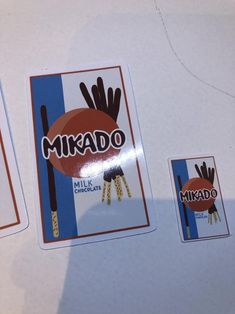 Mikado Sticker Food Stickers Pocky Sticker Aesthetic | Etsy Food Stickers, Cheap Stickers, Name Stickers, Aesthetic Stickers, Cute Designs, I Shop, Craft Supplies, How To Draw Hands, Scrapbook
