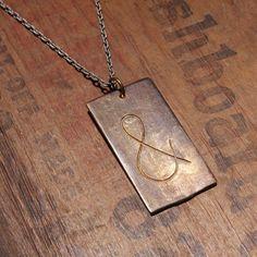 ee0c4ee7986f8 Ampersand Necklace Tech Accessories