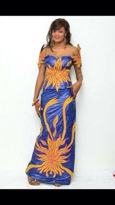 modele couture bazin riche