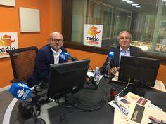 Antonio Banda, CEO de Feelcapital, con el periodista económico Manuel Tortajada en el programa Visión Global de Radio Intereconomía. #FondosDeInversión (17 de mayo de 2017).