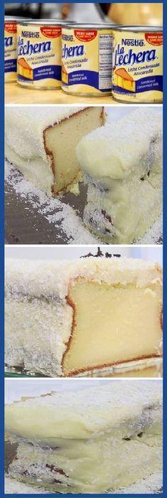 pastel de leche condensada