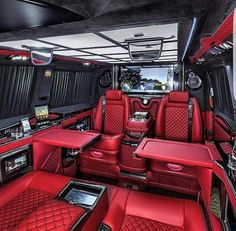 Limousine interior, truck interior, fancy cars, all cars, luxury interior. Van Interior, Luxury Interior, Truck Interior, Interior Design, Bugatti, Lamborghini, Maserati, Jet Privé, Luxury Van