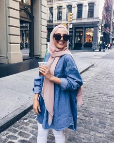Muslim Fashion 626141154428006037 - Source by ChaiimaAlg Modern Hijab Fashion, Street Hijab Fashion, Hijab Fashion Inspiration, Muslim Fashion, Modest Fashion, Fashion Outfits, Fashion Muslimah, Fashion Fashion, Casual Hijab Outfit